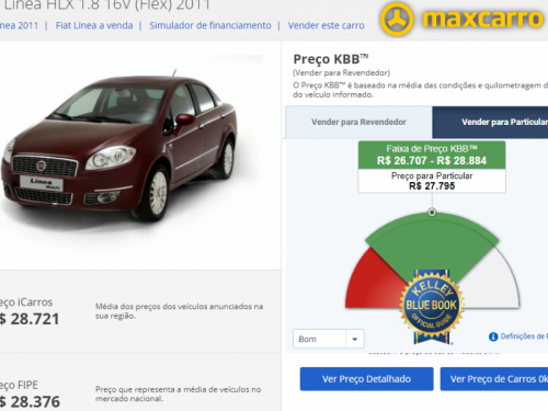 Foto do veículo FIAT LINEA 1.9/ HLX 1.9/ 1.8 Flex 16V 4p 2011/2011 ID: 41612