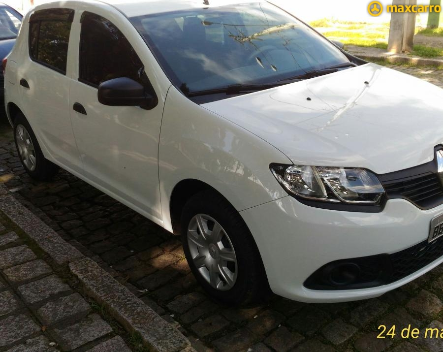 RENAULT SANDERO Authentique Flex 1.0 12V 5p 2018/2017