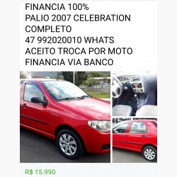 Fiat Palio Celebration 1.0 Fire Flex 8V 4p 2007/2006