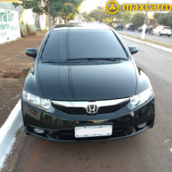 HONDA Civic Sedan LXS 1.8/1.8 Flex 16V Aut. 4p 2009/2009