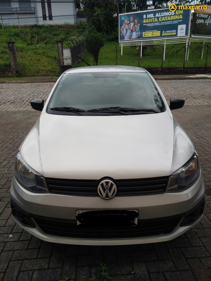 VW - VOLKSWAGEN Gol (novo) 1.0 Mi Total Flex 8V 4p 2017/2016